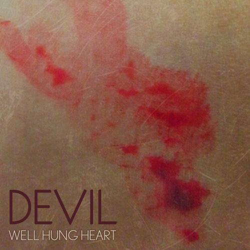 "ANNOUNCEMENT: Teaser Album Art of the FIRST SINGLE from the Debut Album. Album title is still a secret but the first single is called ""DEVIL"".     Stay close b/c single AND music video will be released in just a few days…     [Photography & design by Greta Valenti of WHH.]"