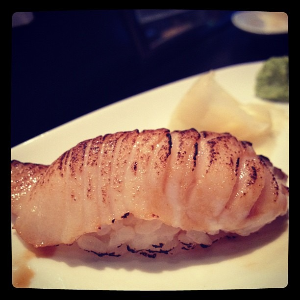 Seared Black Cod @ Oshima in Orange (Taken with  Instagram )