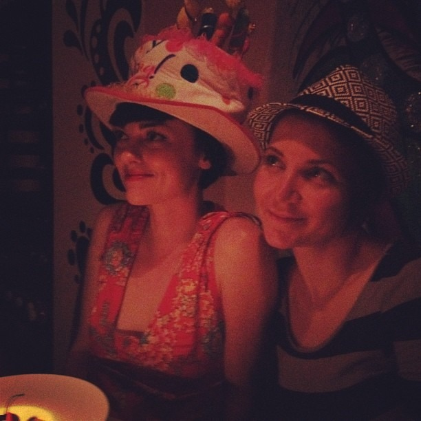 Birthday Hat at Shojin. (Taken with  Instagram )