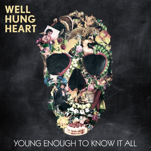 "Announcing, The Debut Album:   The album will be called   ""Young Enough To Know It All""  . We were lucky enough to be able to collaborate with a very talented artist for the album cover. The cover is a piece designed by Turkish Illustrator, Ali Gulec. The piece ""Vintage Skull"" and several of his other pieces have become very popular on the interwebz and we feel honored that we get to claim this one as our album cover. Thank you Ali!! The cover will appear in two versions - with and without text. Hope you guys love it.     xxx WHH"