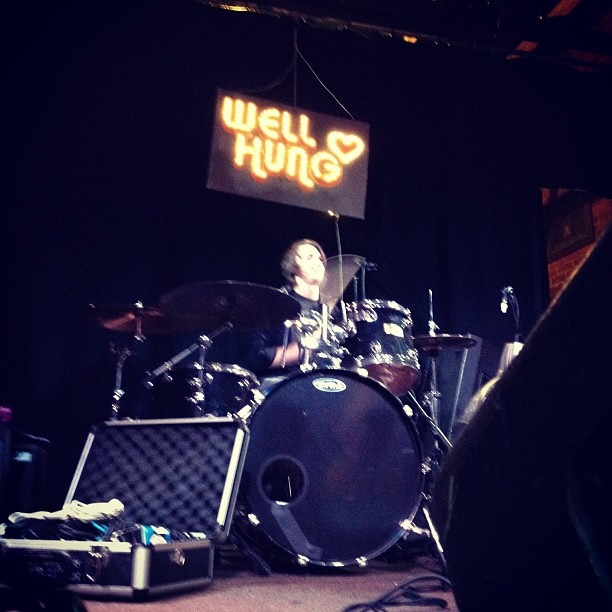 WHH sound check. Live in 35 min at Molly Malone's in Los Angeles. (Taken with  Instagram )