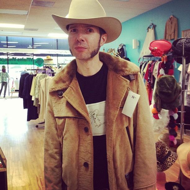 Look ma, I got myself a cowboy. (Taken with  Instagram )