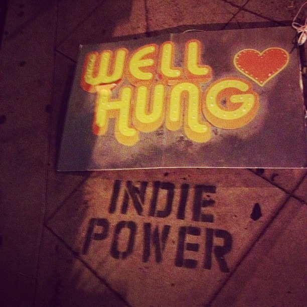 Well Hung Heart - indie power!  SoCal Tour is complete! Thank youuuu to everyone who came out! (Taken with  Instagram )