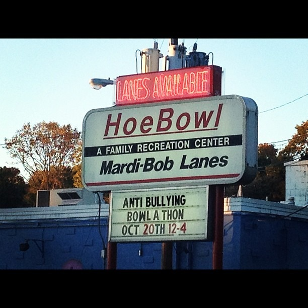 Hoe bowl. (Taken with  Instagram )