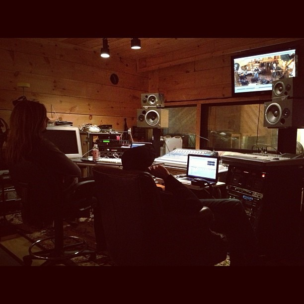 The Davey Brothers in Studio 44. (Taken with Instagram at Millbrook, NY)
