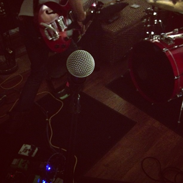 Rehearsals are back in action… Well we never really had a rehearsal before but do far so good.