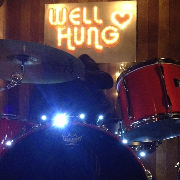 So is @nicopriest …  Rocking will begin in 30 min… #wellhungheart