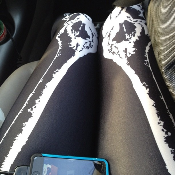 On the way to our gig tonight opening for The Fixx. #blackmilkclothing #thefixx #ipodsnbones #wellhungheart