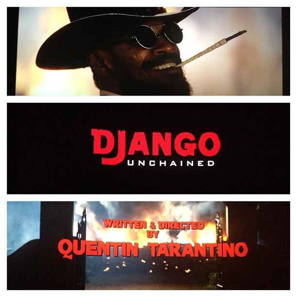 Django Unchained! Fuck fuck motherfucker fuck fuck you Taratino you fucking genius cocksucking asshole I fucking love you motherfucker. Goddamnit!!! Fucccckkkkkk! #wellhungheart #tararino #fuckyoutarantino #gretavalentihatesyou #fuckyfuckfuck #merryfuckingchristmas