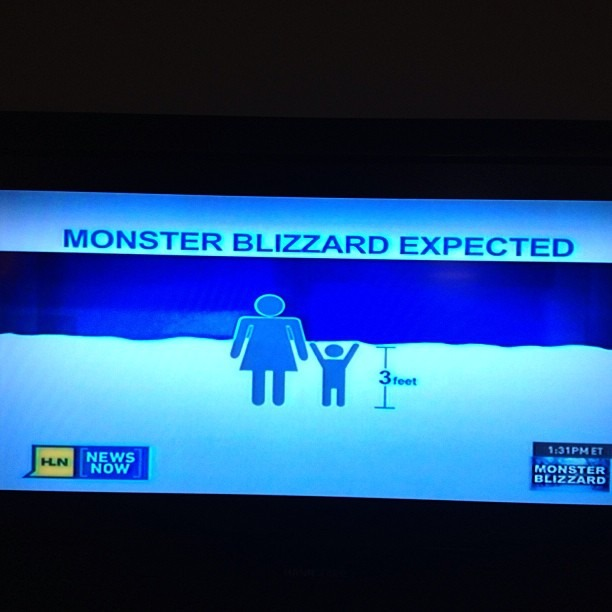 Thank You HLN for describing that the snow in Boston will be 3 feet -  illustrating that it will cover toddlers as they walk with their mothers. #newsisnolongernews #fearmongers #childrenwillnotsuffocateinthesnowyoudumbasses #hlnisstupid