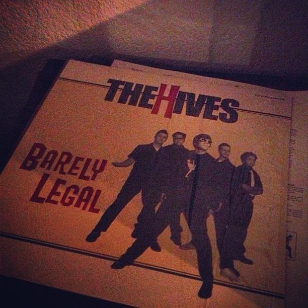#thehives #hives #punkrock #vinyl
