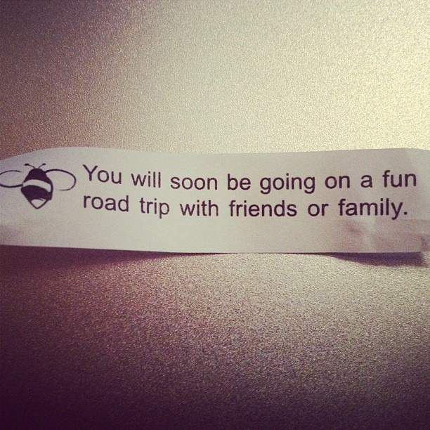 This is true. #fortunecookie #wellhungheart #roadtrip #sxsw #dirtysouth #tour