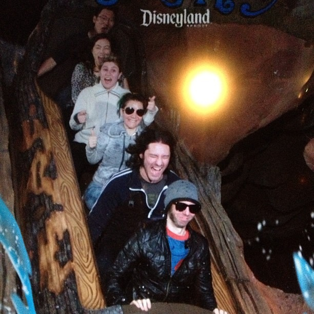 And the money shot! #splashmountain #disneyland @nicopriest @mooshbag @robindavey