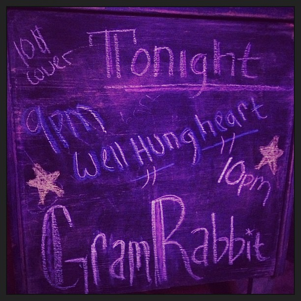 Tonight @gramrabbit @wellhungheart in the desert!!
