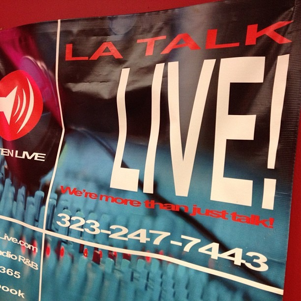 Live on air at 3pm PST latalklive.com ! @wellhungheart (at Paradise Building)
