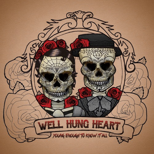 "TWO WEEKS FROM TODAY!! Get the debut album by Well Hung Heart, ""Young Enough To Know It All"". Available on iTunes and WellHungHeart.com - MARCH 1st!"