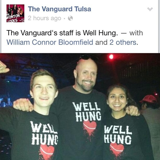 Had such a fun night at The Vanguard in Tulsa, OK tonight!!! Thanks you guys!! Off to Texas now…