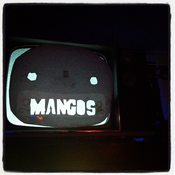 Let the fucking rock begin!!! #mangos #houston #nowmotherfuckers  (at Mango's Cafe)