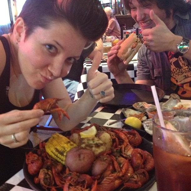 #crawfish let's do this. #seafood #louisiana #yum #soulfood #covington #neworleans (at Acme Oyster House - Covington)