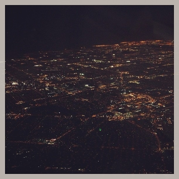 #Hello #LosAngeles You look beautiful #tonight.  #LAisAlwaysPrettyOnTheSurface (at Los Angeles International Airport (LAX))