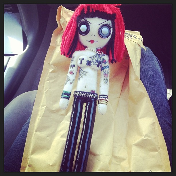 Look what came in the #mail today!! #TexasTerri #handmade #doll by #DollArmsBigVeins #ImOfficiallyAStalker #TexasTerriIsMyHero