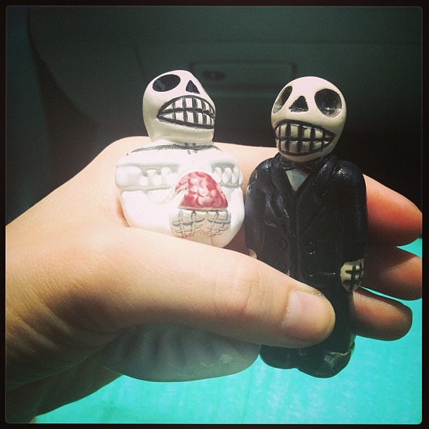 Robin & Greta's Getting #hitched pretty soon! #diadelasmuertas #dayofthedead #mexico