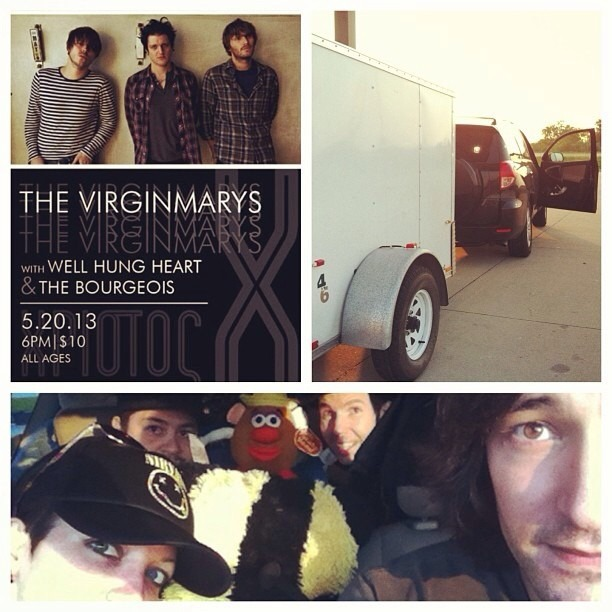 Killer show tomorrow night in Tulsa at The Vanguard opening for The Virginmarys !! All Ages! Be there OK peeps!!! @wellhungheart @thevirginmarys @vanguardtulsa #oklahoma #tulsa #rocknroll @nicopriest @therobindavey @honeybadger626