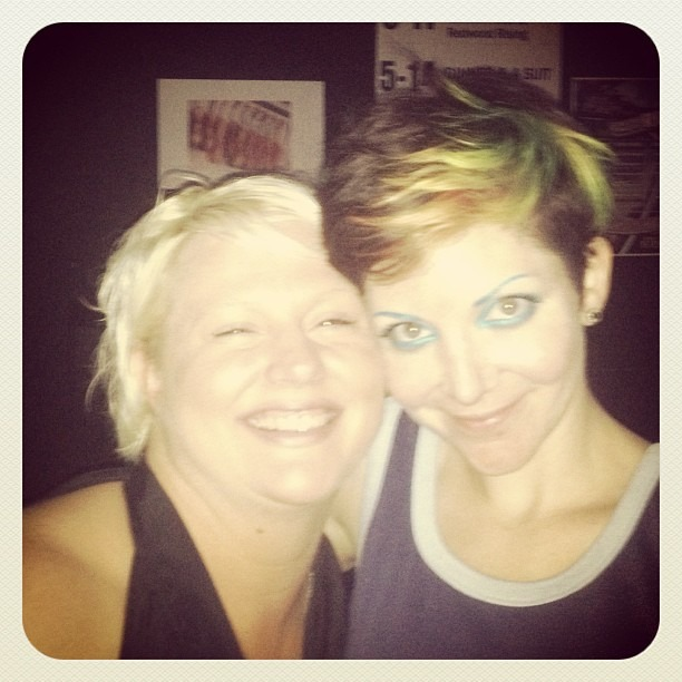 Me n Sunshine!!! Yay we love Tulsa!! (at The Vanguard)