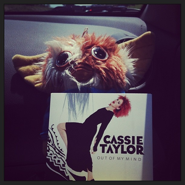 Listening to our new @CassieTaylor album on the drive to Fort Smith, AR for our show tonight at Roosters at 11pm!!! We love Cassie!