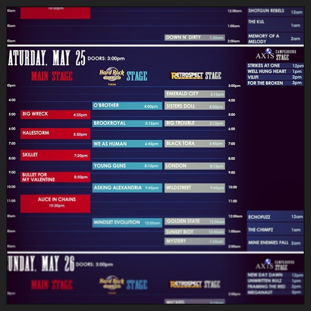 #Rocklahoma !! Come see my band Well Hung Heart play on the #Axis stage at 1pm on Saturday! :D  See you all there!! @rocklahoma @wellhungheart @gretavalenti @nicopriest