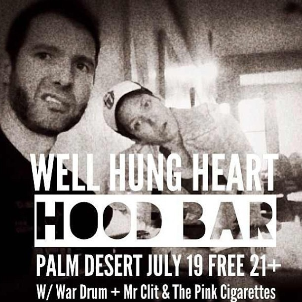 @WellHungHeart show Next Friday!!