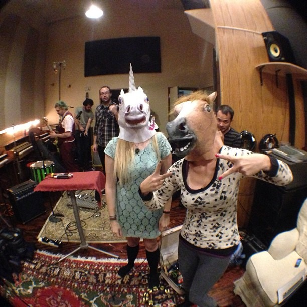 Recording Time. #unicorn @mrclitandthepinkcigarettes#recording #newmusic #rock #shit (at Secret Ninja Recording Studios)