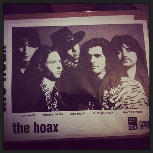 Just got this off #eBay . So awesome. @therobindavey #TheHoax #PressKit #AtlanticRecords