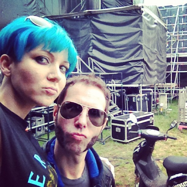 #huntenpop backstage tay i love Festivals! (at Huntenpop)