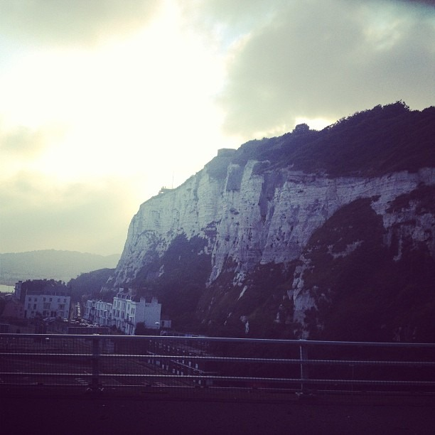 Back from The Netherlands and here are the beautiful #WhiteCliffs of #Dover !