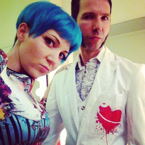 Well Hung Heart next UK Tour show is this Sunday, Sept 8 @ TheHalfMoon Putney, London w/The Hoax!!  #wellhungheart #guitars #heart #tattoos #bluehair #rockandroll #bob #fringe
