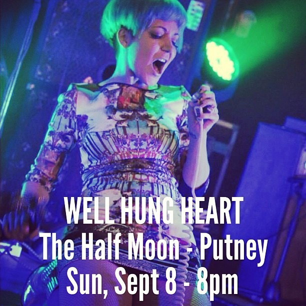 Only 20 tickets left for our show with The Hoax at The Half Moon Putney (London). If you haven't purchased tickets yet do so NOW!! http://ww.halfmoon.co.uk/event/709
