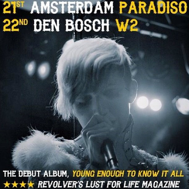WELL HUNG HEART shows This SATURDAY & SUNDAY in #TheNetherlands ! #paradiso #amsterdam #w2 #denbosch #dutchrock #rockandroll #rockshow #grungeblues #postpunk #usbands #americanrock #rockparty #dancethenightaway #rockoutwithyourcockout
