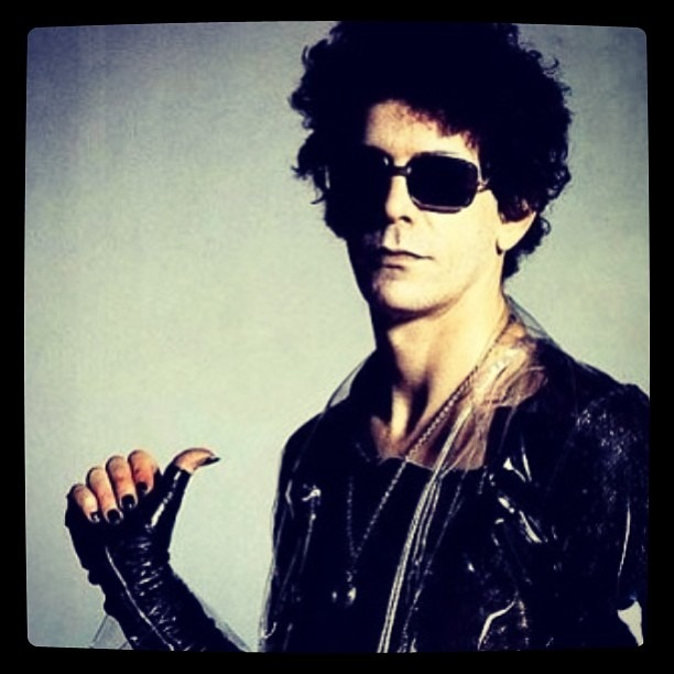 Lou Reed - Rest In Peace and Walk on the Wild Side. 1942-2013  Sad day for rock n roll. #thevelvetunderground #loureed #death #rip