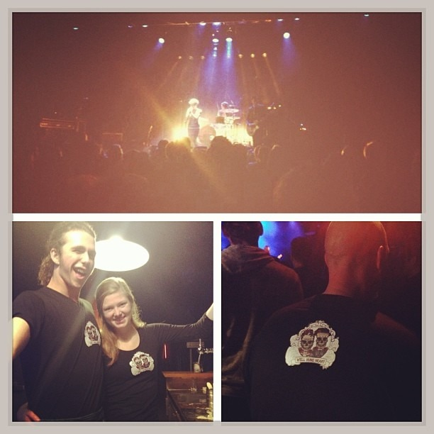 Thank you, #Oss!! The show with @TheHoaxUk at @Groene_EngelOss was amazing!!! Xoxo - Well Hung Heart (at Groene Engel)