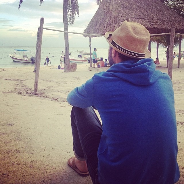 Pondering the last days… #dontwantittoend #honeymoon2013 @therobindavey