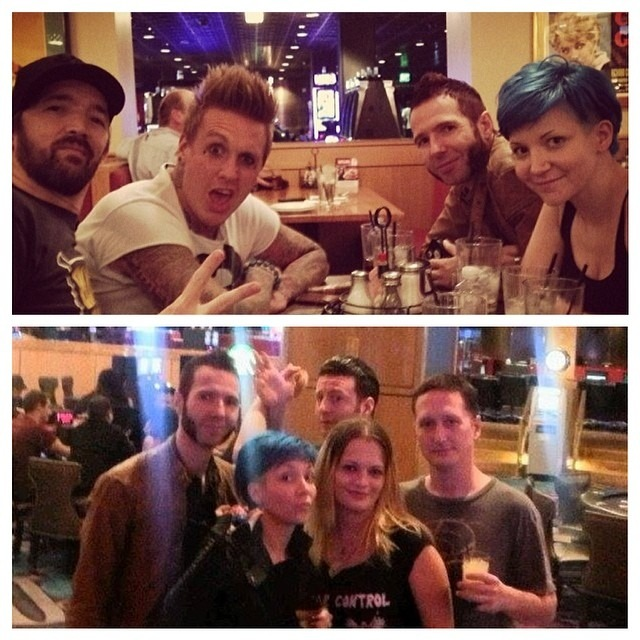 The best part of #LasVegas was hanging with friends old and new. #whatreallymatters #hugafriendforValentinesDay