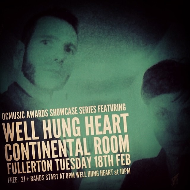 SHOW Tomorrow Night in #Fullerton ! 10pm FREE - Come help us win!!!! #ocmusic @ocmusicawards @continentalroom