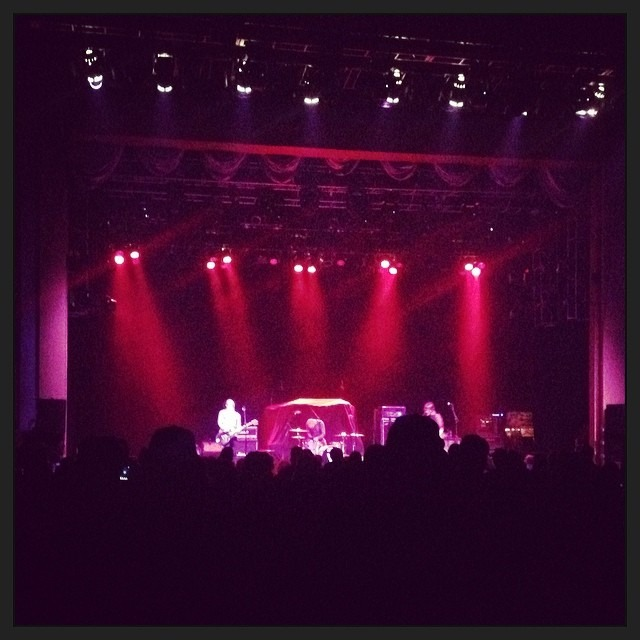 @theVirginmarys kicking ass right now in #Anaheim at @groveofanaheim supporting #Buckcherry ! @wellhunghear