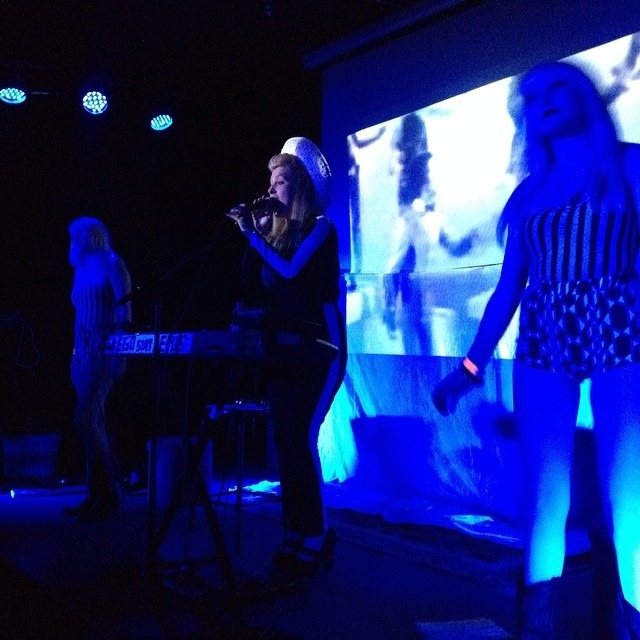 Jesika Von Rabbit and her #Grundles sounding sick n sexy in #silverlake @thesatellitela