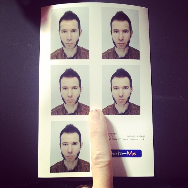 Best way to confuse facebook's face recognition software … #igotfivepartners #themanofmanyfaces #flawless #hewokeuplikethis #passportrenewaltime