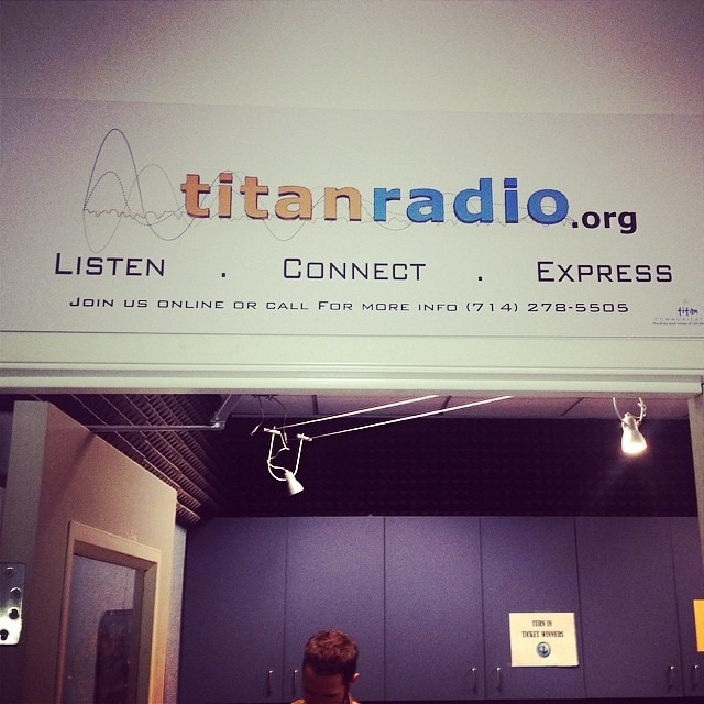 "In 30 minutes, we will be LIVE on Titan Radio (Cal State Fullerton) go to TitanInternetRadio.org and TUNE IN ! Playing live acoustic versions of ""Sweet"" and ""Breathe"" !"