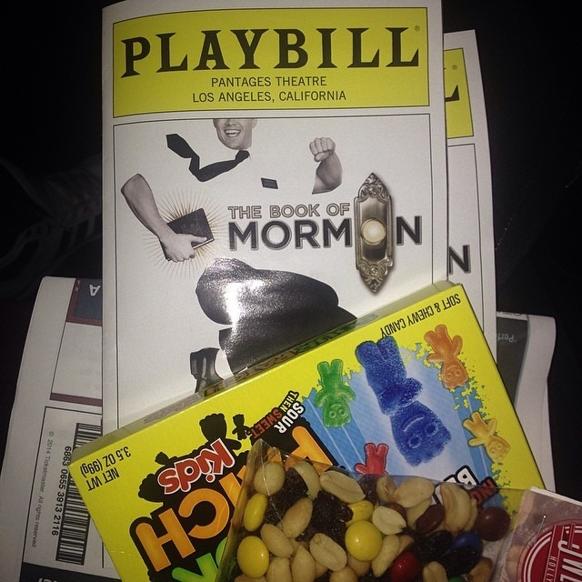 This is about to happen. Ohhh yes! #TheBookOfMormon #TreyParker #MattStone #pantages #amen