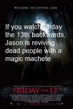 Happy Friday the 13th, ya'll.