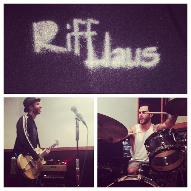 Great #4thofJuly rehearsing at our favorite, #RiffHaus Rehearsal Studios in #fullerton for the @WellHungHeart summer tour.
